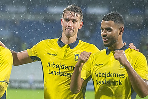 Andreas Maxs� (Br�ndby IF), Anis Slimane (Br�ndby IF)