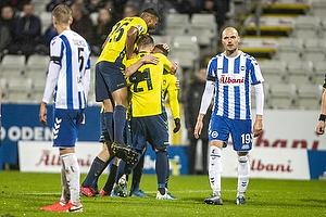 Lasse Vigen Christensen, m�lscorer (Br�ndby IF), Anis Slimane (Br�ndby IF)