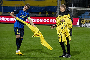 Andreas Maxs�, anf�rer (Br�ndby IF), Leif Mortensen, holdleder (Br�ndby IF)