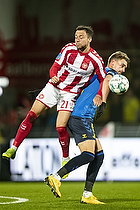Andreas Maxs� (Br�ndby IF), Patrick Olsen (Aab)