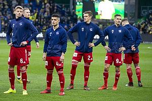 Rezan Corlu (Lyngby BK), Kasper Enghardt (Lyngby BK), Frederik Winther (Br�ndby IF), Lasse Fosgaard (Lyngby BK)