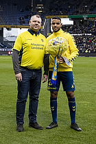 Anis Slimane (Br�ndby IF), Peter Nielsen (Br�ndby Support)