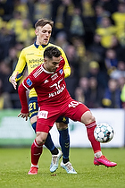 Rezan Corlu (Lyngby BK), Lasse Vigen Christensen (Br�ndby IF)