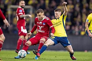 Frederik Gytkj�r (Lyngby BK), Morten Frendrup (Br�ndby IF)