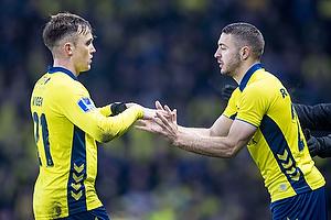 Lasse Vigen Christensen (Br�ndby IF), Josip Radosevic (Br�ndby IF)