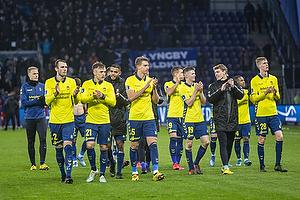 Jens Martin Gammelby (Br�ndby IF), Lasse Vigen Christensen (Br�ndby IF), Andreas Maxs� (Br�ndby IF)