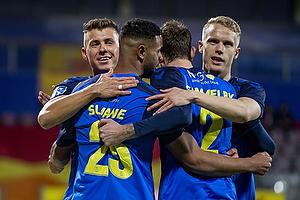 Anis Slimane, m�lscorer (Br�ndby IF), Hj�rtur Hermannsson (Br�ndby IF), Samuel Mraz (Br�ndby IF)
