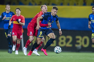 Mikkel Rygaard (FC Nordsj�lland), Samuel Mraz (Br�ndby IF)