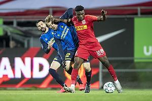 Mohammed Kudus (FC Nordsj�lland), Simon Tibbling (Br�ndby IF)
