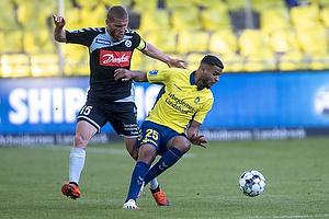 Anis Slimane (Br�ndby IF), Johan Absalonsen (S�nderjyskE)