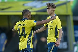 Kevin Mensah (Br�ndby IF), Jesper Lindstr�m (Br�ndby IF)