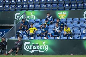 Anis Slimane (Br�ndby IF), Lasse Vigen Christensen (Br�ndby IF), Kevin Mensah (Br�ndby IF), Sigurd Rosted (Br�ndby IF), Samuel Mraz (Br�ndby IF), Simon Hedlund (Br�ndby IF)