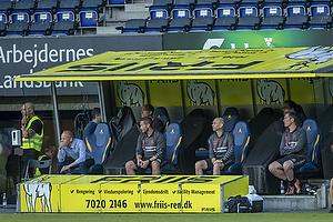 Niels Frederiksen, cheftr�ner (Br�ndby IF), Martin Retov, assistenttr�ner (Br�ndby IF)