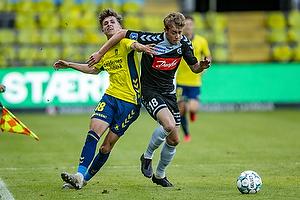Jesper Lindstr�m (Br�ndby IF), Nicholas Marfelt (S�nderjyskE)
