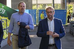 Carsten V. Jensen, fodbolddirekt�r (Br�ndby IF), Ole Palm�, direkt�r (Br�ndby IF)