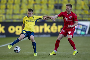 Morten Frendrup (Br�ndby IF), Bror Blume (Agf)
