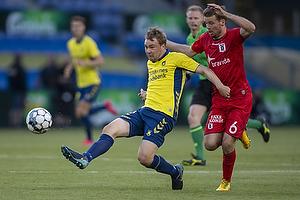 Simon Tibbling (Br�ndby IF), Nicolai Poulsen (Agf)