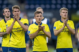 Andreas Maxs�, anf�rer (Br�ndby IF), Lasse Vigen Christensen (Br�ndby IF), Sigurd Rosted (Br�ndby IF)