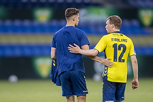 Andreas Bruus (Br�ndby IF), Simon Tibbling (Br�ndby IF)