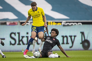 Andreas Bruus (Br�ndby IF), Evander Ferreira  (FC Midtjylland)