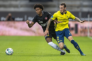 Evander Ferreira  (FC Midtjylland), Jens Martin Gammelby (Br�ndby IF)