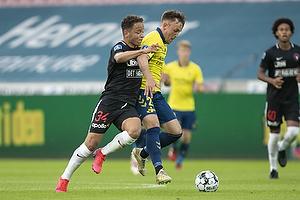 Lasse Vigen Christensen (Br�ndby IF), Mikkel Anderson  (FC Midtjylland)