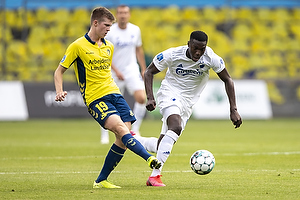 Morten Frendrup (Br�ndby IF), Mohamed Daramy  (FC K�benhavn)