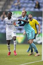 Marvin Schw�be (Br�ndby IF), Mohamed Daramy  (FC K�benhavn)