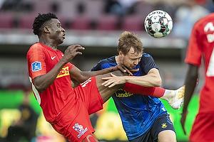 Simon Tibbling (Br�ndby IF), Mohammed Kudus  (FC Nordsj�lland)