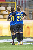 Josip Radosevic (Br�ndby IF), Mikael Uhre (Br�ndby IF)