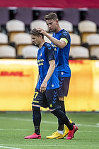 Andreas Maxs�, anf�rer (Br�ndby IF), Simon Hedlund (Br�ndby IF)