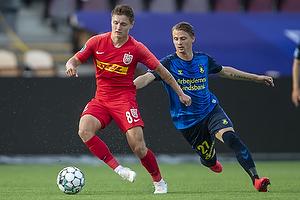 Simon Hedlund (Br�ndby IF), Magnus Kofod Andersen  (FC Nordsj�lland)