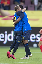 Simon Hedlund, m�lscorer (Br�ndby IF), Anis Slimane (Br�ndby IF)