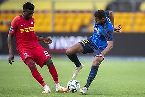 Anis Slimane (Br�ndby IF), Mohammed Kudus  (FC Nordsj�lland)