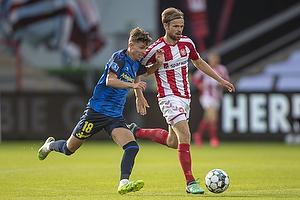 Jesper Lindstr�m (Br�ndby IF), Iver Fossum  (Aab)