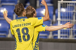Simon Tibbling, m�lscorer (Br�ndby IF), Jesper Lindstr�m (Br�ndby IF)