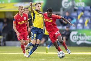Mikael Uhre (Br�ndby IF), Maxwell Woledzi  (FC Nordsj�lland)