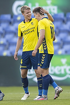 Sigurd Rosted (Br�ndby IF), Mikael Uhre, m�lscorer (Br�ndby IF)