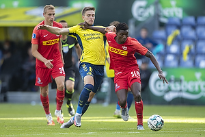 Maxwell Woledzi  (FC Nordsj�lland), Mikael Uhre (Br�ndby IF)