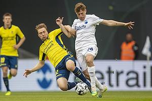 Simon Tibbling (Br�ndby IF), Pep Biel (FC K�benhavn)