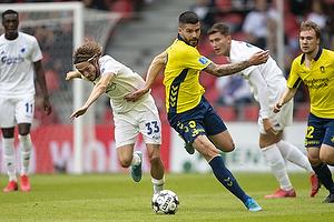 Anthony Jung (Br�ndby IF), Rasmus Falk (FC K�benhavn)