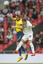 Andreas Maxs�, anf�rer (Br�ndby IF), Jonas Wind (FC K�benhavn)