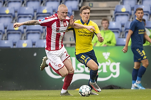 Mikael Uhre (Br�ndby IF), Rasmus Thelander (Aab)