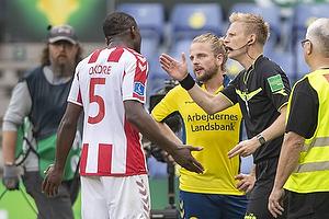 Jores Okore (Aab), Kasper Fisker (Br�ndby IF)