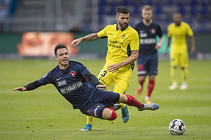 Anthony Jung (Br�ndby IF), Dion Cools (FC Midtjylland)