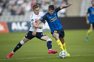 Bror Blume (Agf), Morten Frendrup (Br�ndby IF)