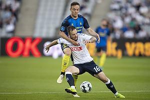 Casper H�jer Nielsen, spiller (Agf), Lasse Vigen Christensen (Br�ndby IF)
