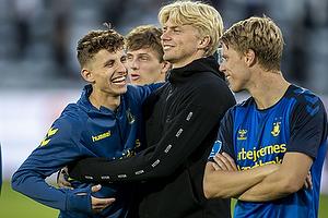 Jesper Lindstr�m (Br�ndby IF), Tobias B�rkeeiet (Br�ndby IF), Sigurd Rosted (Br�ndby IF)