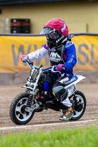 50cc tr�ning i Slangerup Speedway Klub