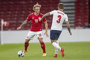 Daniel Wass  (Danmark), Kieran Trippier  (England)